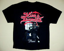 KING DIAMOND THEM'88 MERCYFUL FATE HEAVY METAL S-XXL RARE BLACK T-SHIRT