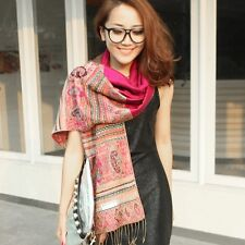 Bohemia Retro Ethnic Patterned Fringe Scarf Shawl Wraps Scarves Muffler Kerchief