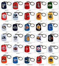 2 NEW NBA OFFICIALLY LICENSED BASKETBALL METAL KEY CHAINS ZIPPER PULL PICK TEAM