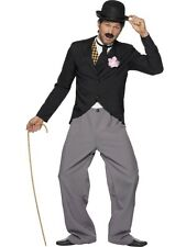 Adult 20s Charlie Chaplin Style Star Mens Fancy Dress Stag Party Costume Outfit
