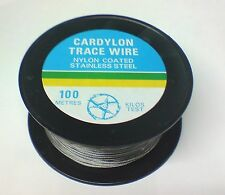 Cardoc Cardylon Nylon Coated Stainless Steel Trace Wire 100m Bulk Spools