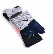 Nike Crew Socks 3 Pairs/Pack US Men Shoe Size 8-12 Made in USA