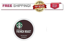 FRESH Starbucks French Roast Dark Coffee Keurig k-Cups YOU PICK THE SIZE