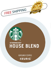 FRESH Starbucks House Medium Roast Coffee Keurig k-Cups YOU PICK THE PACK SIZE