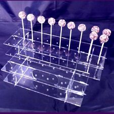 Rectangle Clear Acrylic Cake Pop Stands for weddings, Parties & Occasions