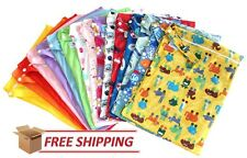 3 x LARGE Kids Waterproof Wet Bags For Cloth Nappies, Swimmers RUN OUT SALE!