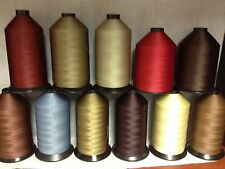 69 (Tex 70) Lt-Mid Weight Bonded Nylon/Poly Upholstery Leather Thread (4oz) #2