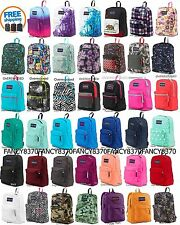 100% Authentic Jansport School Backpack Superbreak T501 Black,Blue,Grey,Red