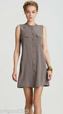 NEW Equipment Raleigh silk shirt Dress Shark XS/S/M $238