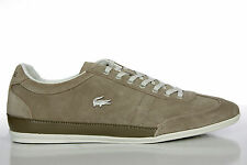 Lacoste Mens Shoes Lace Up Fashion Sneakers Misano 21 Light Brown 725SRM3003 158