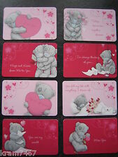 Me to You Tatty Teddy Love Message Keepsake Card Wallet / Purse Credit Card Size