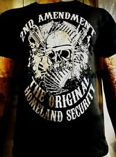 America's Original Homeland Security t-shirt New skull gun rights 2nd Amendment
