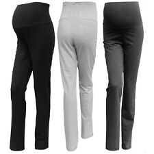 Maternity Trousers Over Bump Size Great for Gym 8 10 12 14 16 18 20 Cotton, Tall