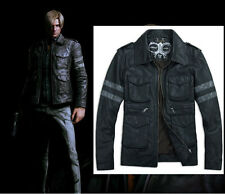Resident Evil 6 Leon Kennedy Gaming Faux Leather Jacket - All Sizes