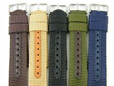 HQ Military Army INFANTRY Navy Nylon Watch Band 12 14 16 18 20 22 MM Strap