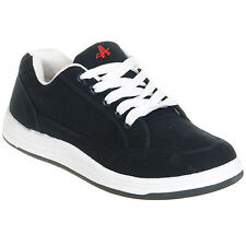 Mens Navy Lace Up Comfortable Summer Trainers Size 6 7 8 9 10 11 12