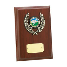 Multi sport wooden plaque award dance, paintballing, football FREE Engraving
