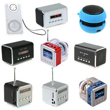 Mini Speaker Music Player Amplifier HIFI LINE IN For MP3 MP4 PC Laptop Phone NEW