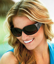 Bling Accents Will Complement These Women's Sunglasses, New w/Case