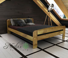 NEW BEDROOM SOLID WOOD PINE BED 3ft 4ft 4ft6in 5ft single double king SAMPLES