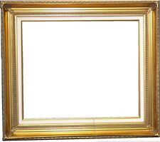 "Gold Leaf Ornate photo family Oil Painting Wood Picture Frame 4.25"" WIDE B4GL"