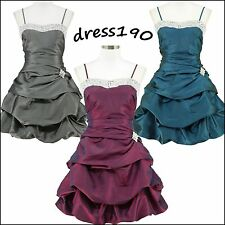 dress190 Puffball Sparkle New Rockabilly Vintage Pinup Party Prom Cocktail Dress