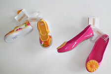 NWT GYMBOREE SUNFLOWER SMILES YELLOW TENNIS SHOES PINK FLOWER FLATS YOU PICK