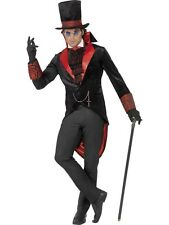 Adult Vampire Dracula Mens Halloween Horror Party Fancy Dress Costume Outfit