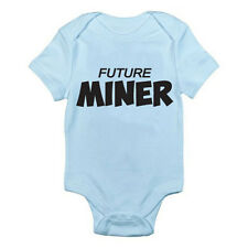 MINER FUTURE - Mine / Coal / Minerals / Earth / Pit Themed Baby Grow / Romper