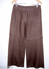 FENN WRIGHT MANSON 100% Linen Tailored Wide Leg Trousers UK 12 US 8 RRP £89