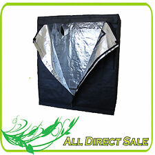 Heavy Duty Myler Oxford Canvas Grow Tent Room Cabinet Box Hut  4X2 3X3 4X4 8X4