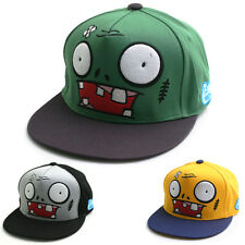 Unisex Zombie Character Decoration Snapback Hat Hip-hop Animal Baseball Cap