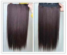 """HOT!16"""" 20"""" ONE PIECE Clip-in 100% Human Hair extensions 85g&100g! many colors!!"""