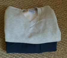 NEW SWEATSHIRTS GREY NAVY  BLUE 3-4 5-6 7-8 9 -11 12- 13 YEARS SCHOOL