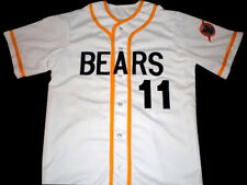BAD NEWS BEARS MOVIE JERSEY #11 BUTTON-DOWN SEWN NEW ANY SIZE XS - 5XL