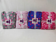 Womens Joe Boxer Flannel 2 Piece Pajamas XS TO 4X  Great For The Holidays