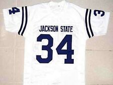 WALTER PAYTON JACKSON STATE UNIVERSITY JERSEY WHITE NEW ANY SIZE XS - 5XL