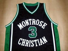 KEVIN DURANT MONTROSE HIGH SCHOOL JERSEY BLACK NEW - ANY SIZE XS - 5XL