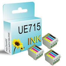 12 UCI BRAND INK CARTRIDGES REPLACE FOR EPSON STYLUS PRINTER