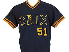 ICHIRO SUZUKI ORIX BLUE WAVE JERSEY NAVY BLUE NEW ANY SIZE XS - 5XL