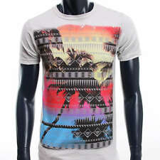 ART DRAKE NEW SCHOOL HIPSTER EXPRESS MMA UFC URBAN T-SHIRT MEN NEW GREY
