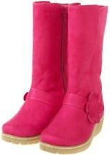 NWT Gymboree Smart and Sweet Flower Faux Suede Boots Sz 9 10 11 12 3