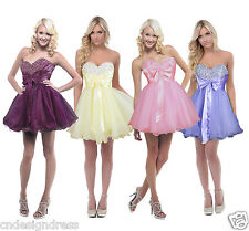 New Sexy Short Cocktail Party Ball Gown Evening Prom Dress Size 6 8 10 12 14 16