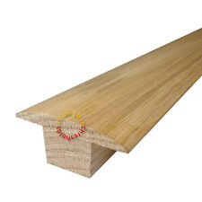 SOLID OAK T SECTION DOOR BAR THRESHOLD - 3.6M - UNBEATABLE PRICE & QUALITY