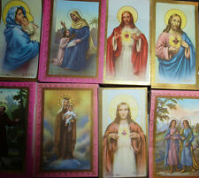 Vintage Pack of 100 (all same) Catholic Saint Pictures - Many Designs