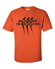 DAMN RIGHT I'M A BENGALS FAN FOOTBALL CINCINNATI Men's Tee Shirt 405