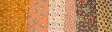 Assorted Fall Prints Springs MBT Oakhurst Pumpkins Scarecrows More 1 YARD CHOICE