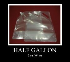 FLASK (64oz) 2 ea/  FOR WINE RUM, RUNNERS TAILGATERS CRUISES ETC