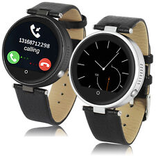 Unlocked! MW09 Stylish Fashion Multimedia Bluetooth Watch Cell Phone Black/White