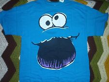 Sesame Street Cookie Monster Adult T-Shirt in Collector's Tin